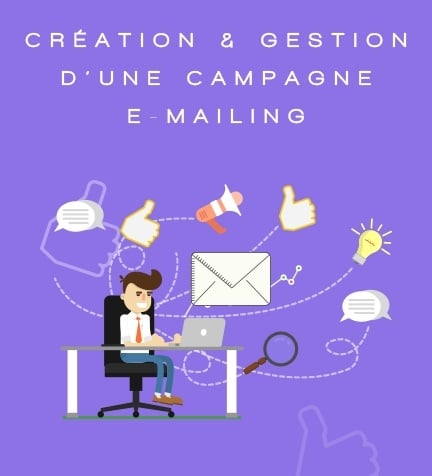 Campagne Emailing plan de formation