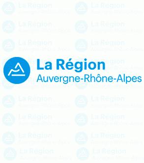 LA REGION Auvergne-Rhone-Alpes logo